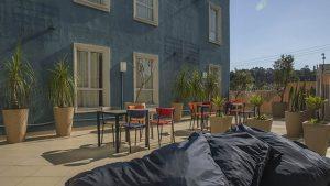 Lounge Externo do BH Residencial
